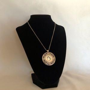 EUC Brighton reversible pendant necklace